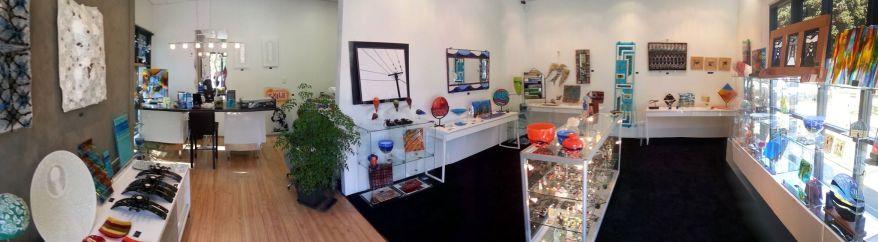 Inside LAVA Gallery 2013